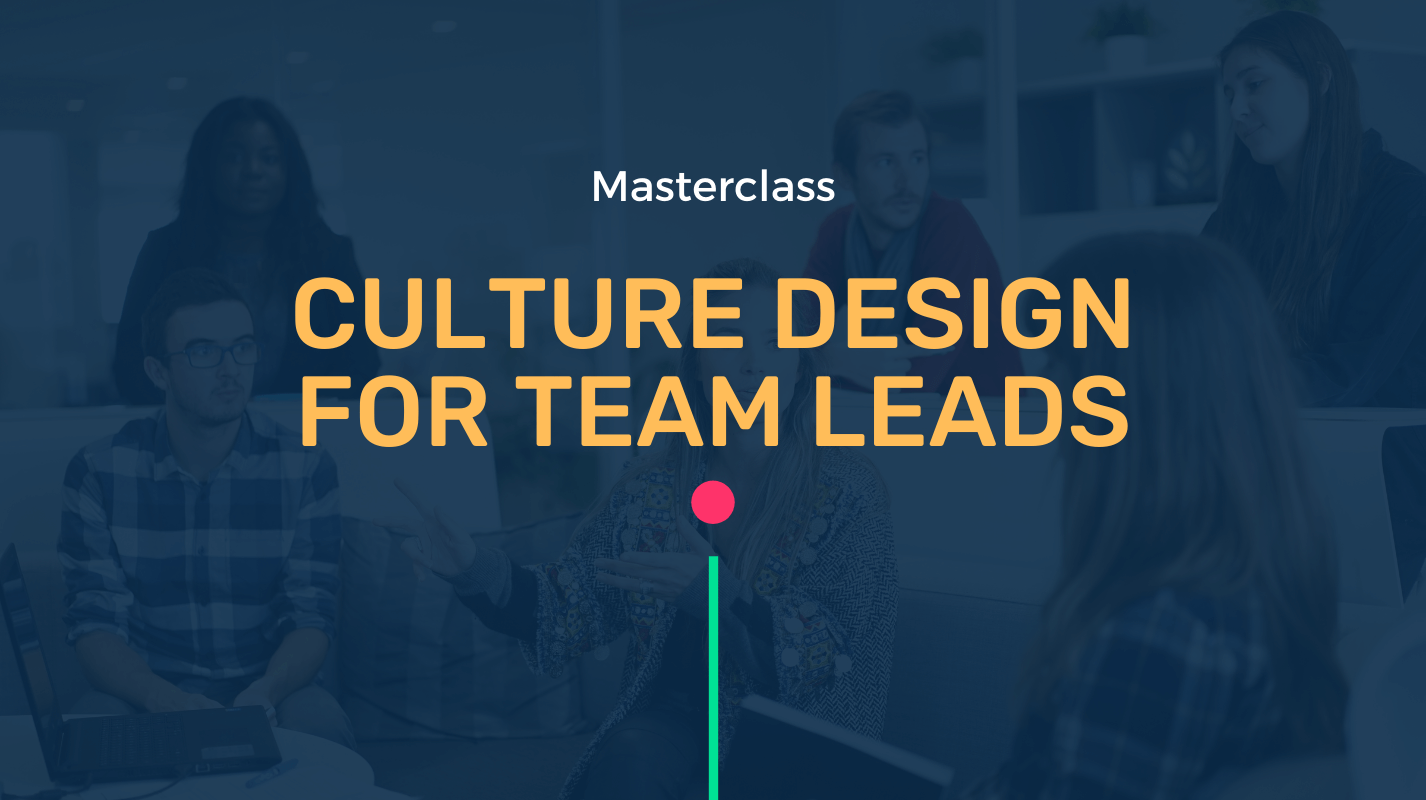Culture design for team leads with Marcelo Peretti Kuhn, The Dojo