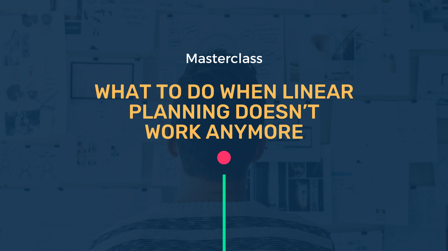 What to do when linear planning doesn't work anymore