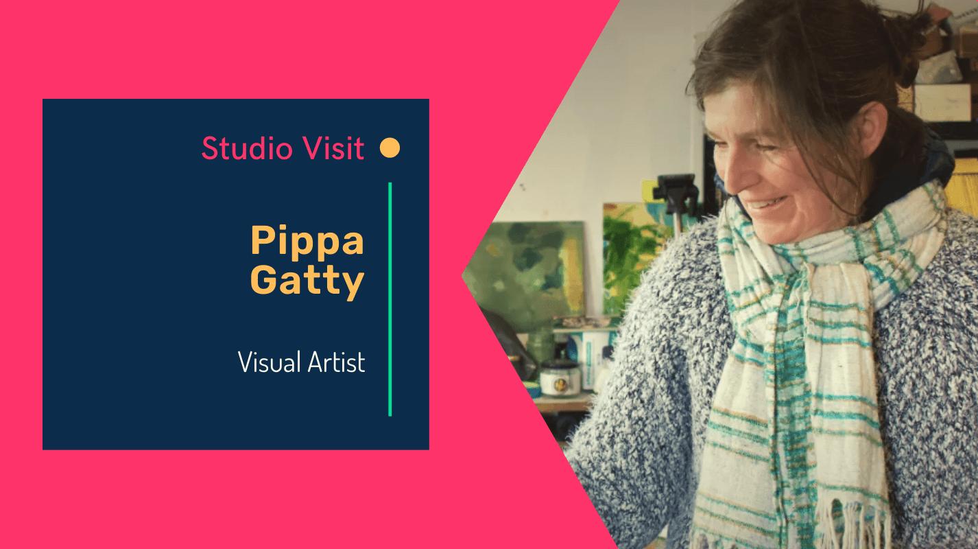 Studio visit with artist Pippa Gatty