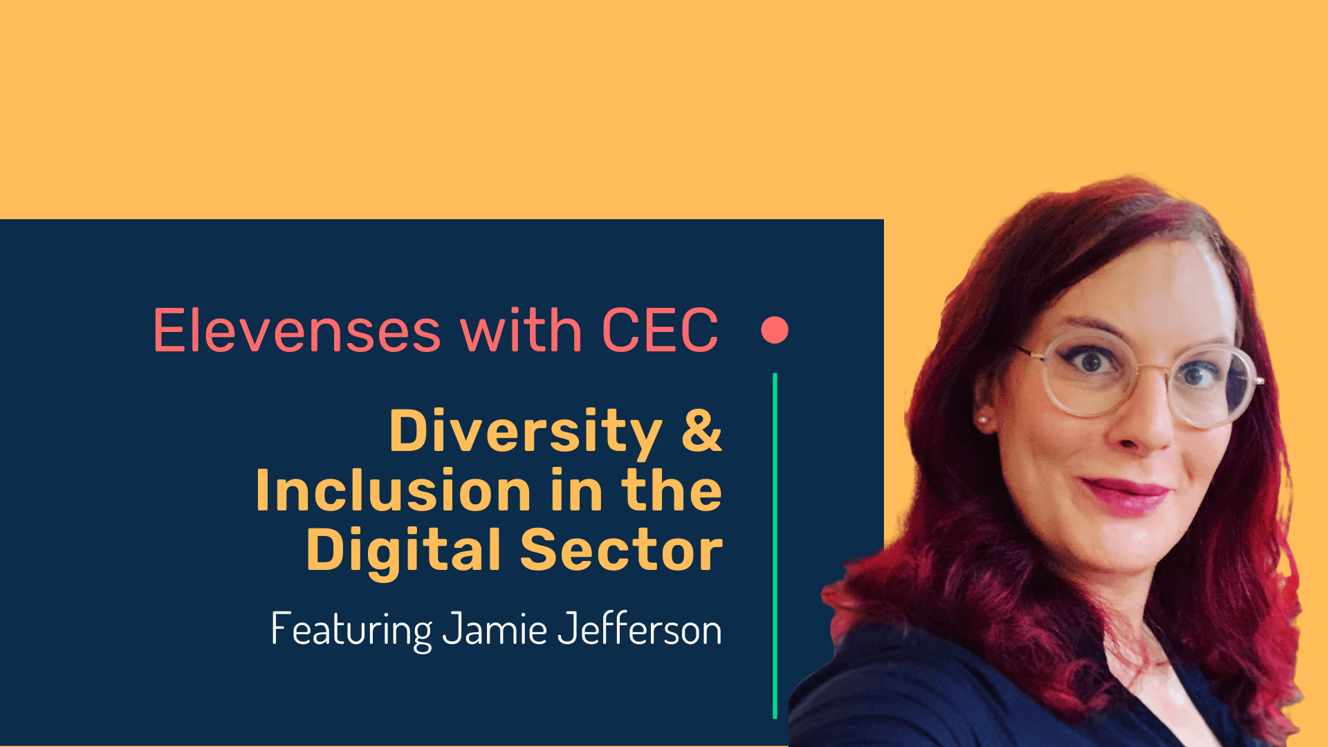 Diversity & inclusion in the digital sector with Jamie Jefferson
