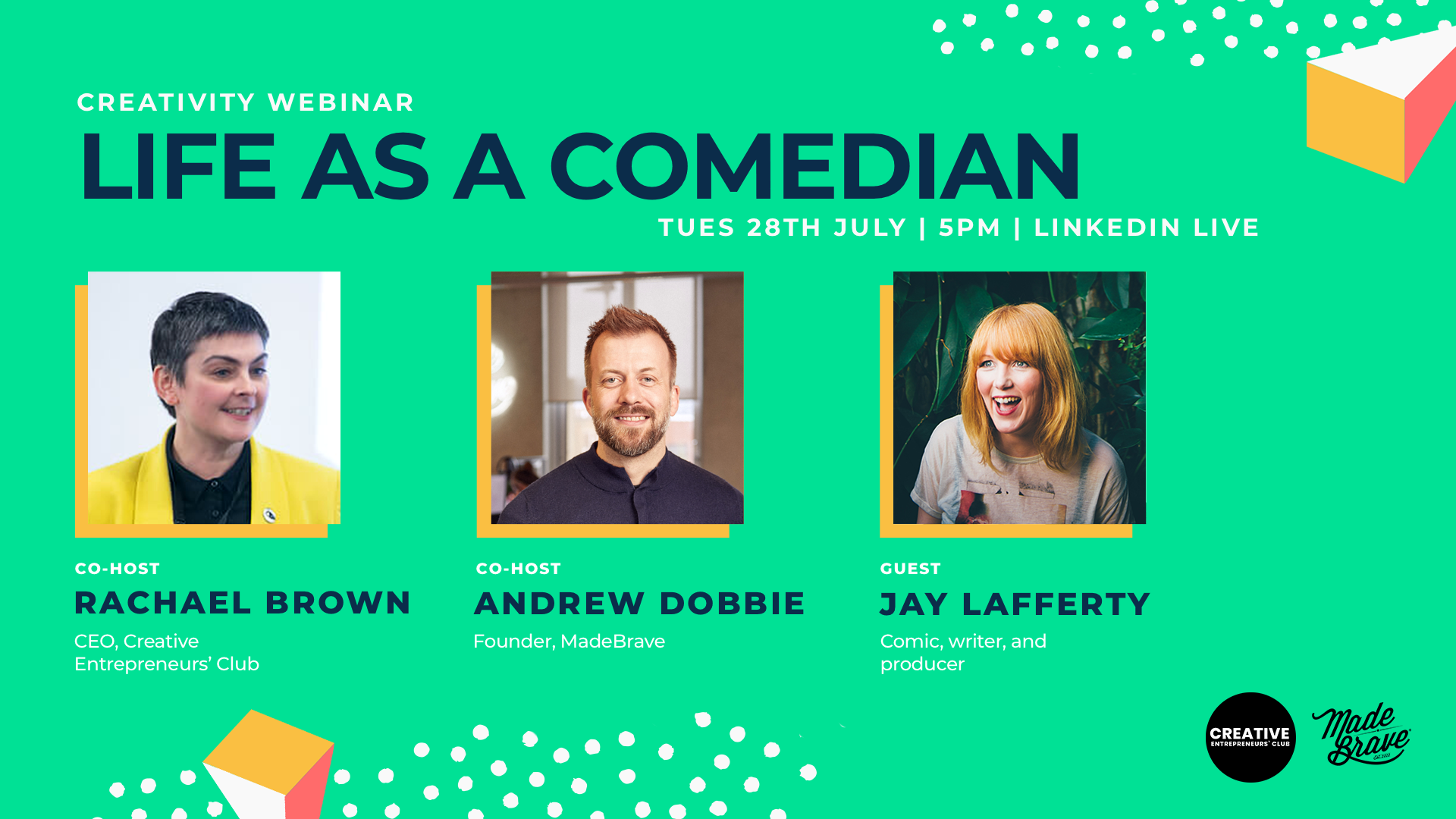 Life as a comedian with Jay Lafferty & MadeBrave