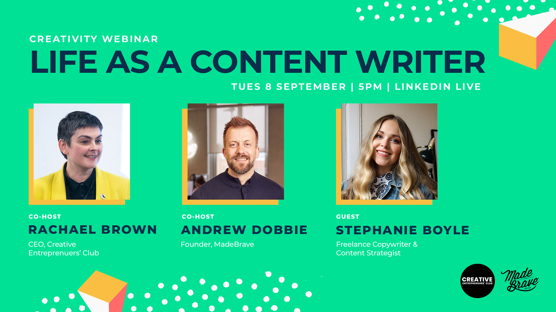 Life as a content writer with Stephanie Boyle & MadeBrave
