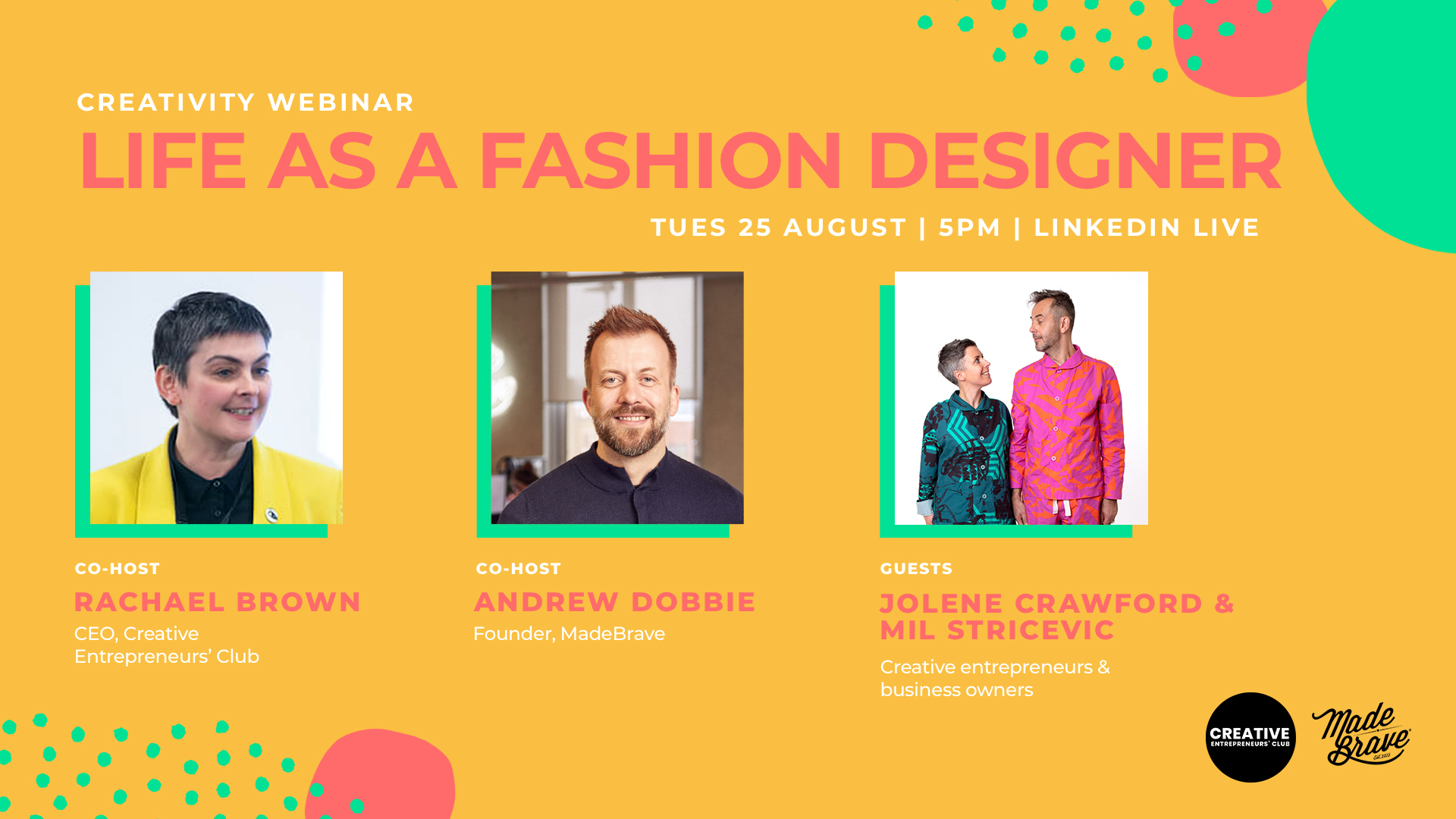 Life as a fashion designer with Jolene Crawford, Mil Stricevic & MadeBrave
