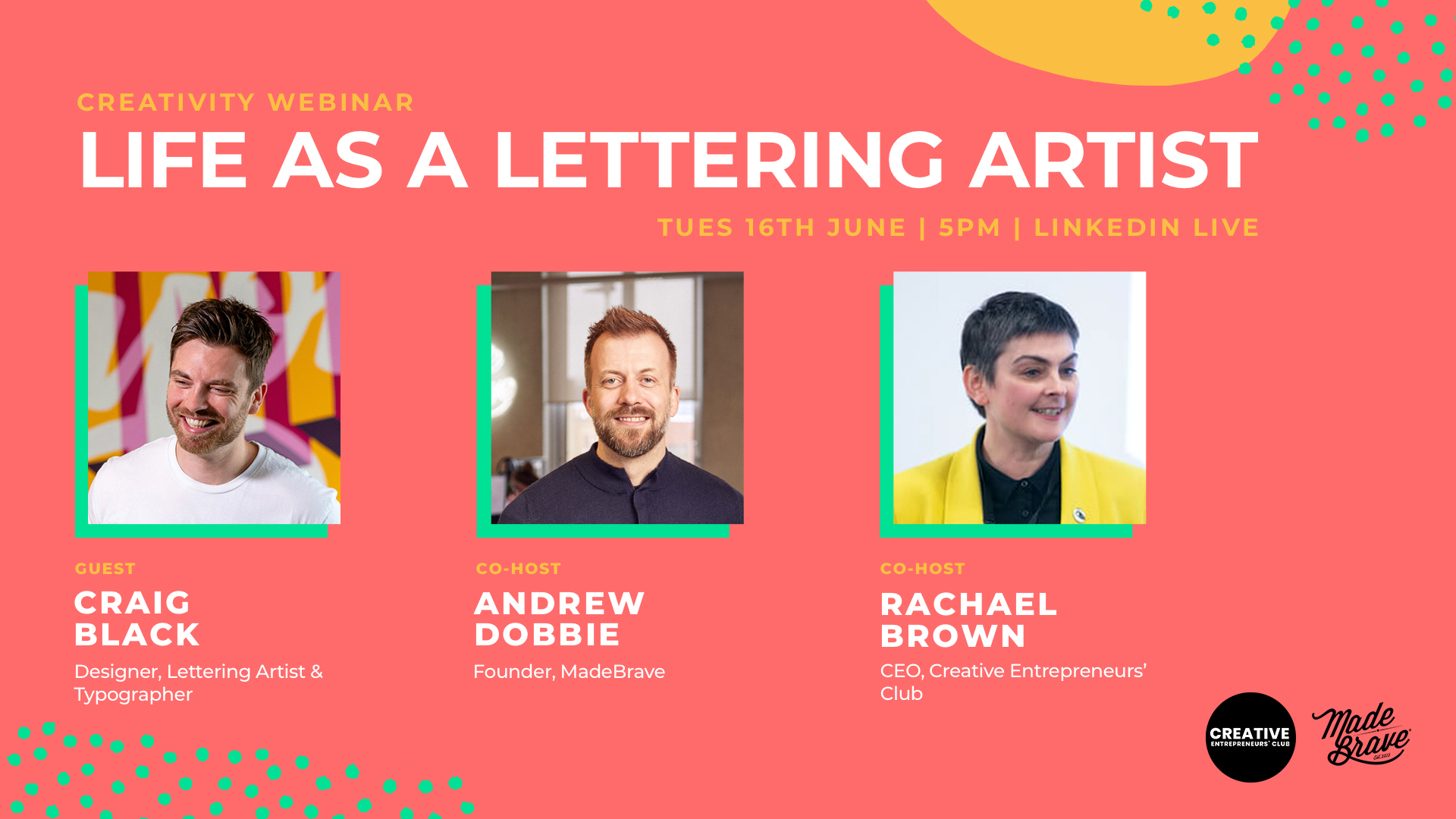 Life as a lettering artist with Craig Black & MadeBrave