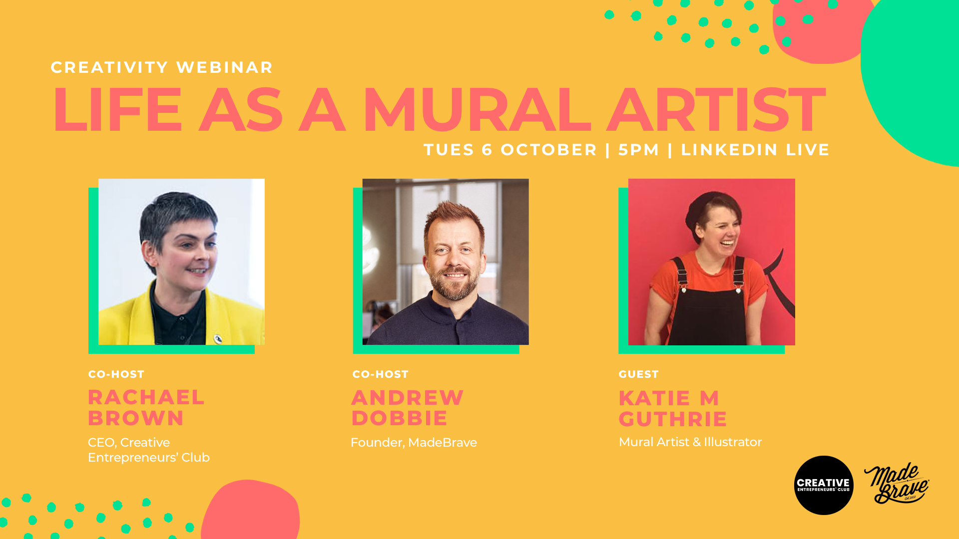 Life as a mural artist with Katie Guthrie & MadeBrave