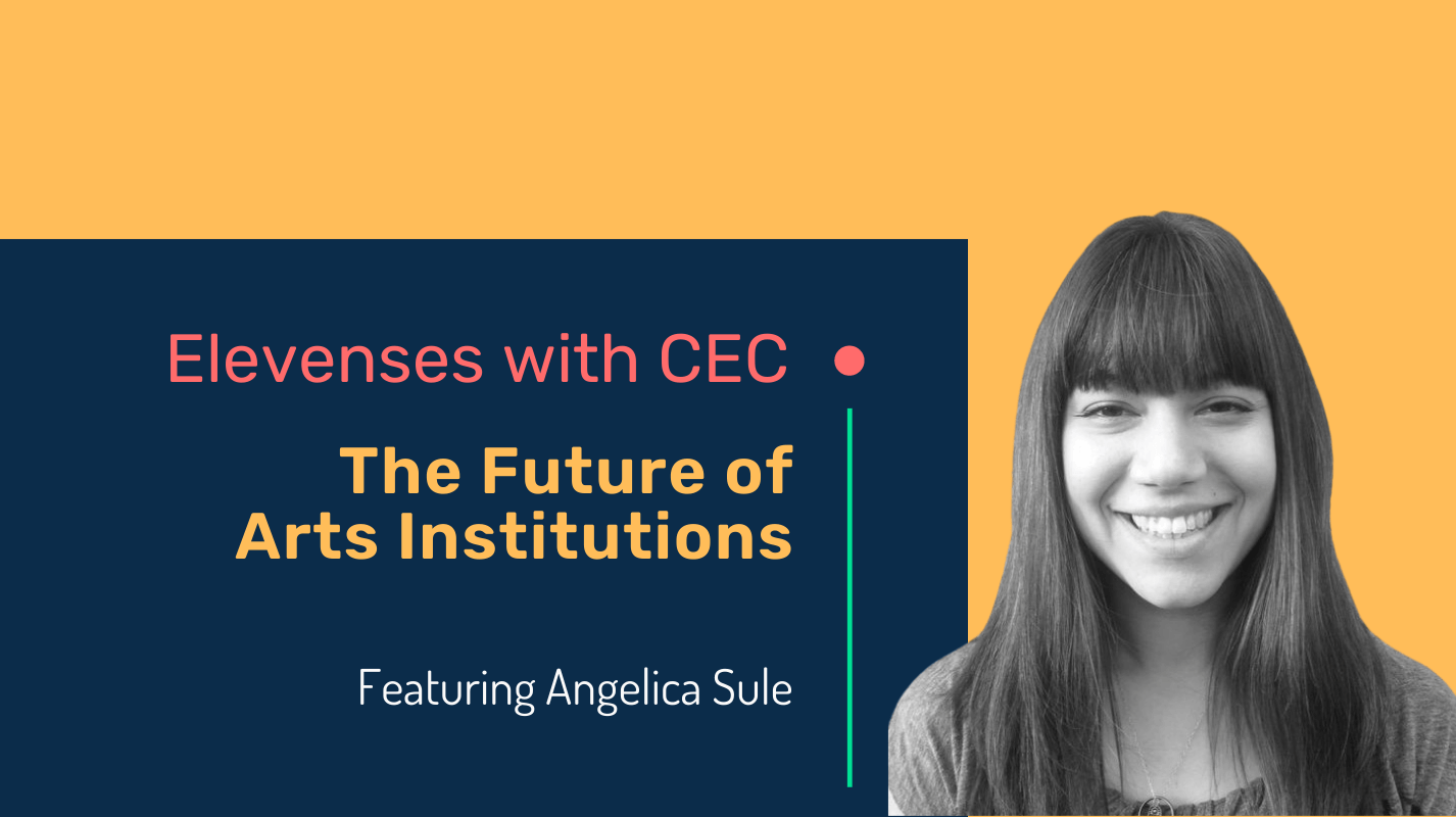 The future of arts institutions with Angelica Sule