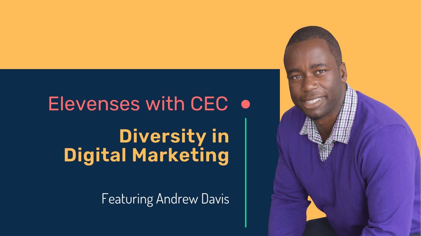 Diversity in digital marketing with Andrew Davis
