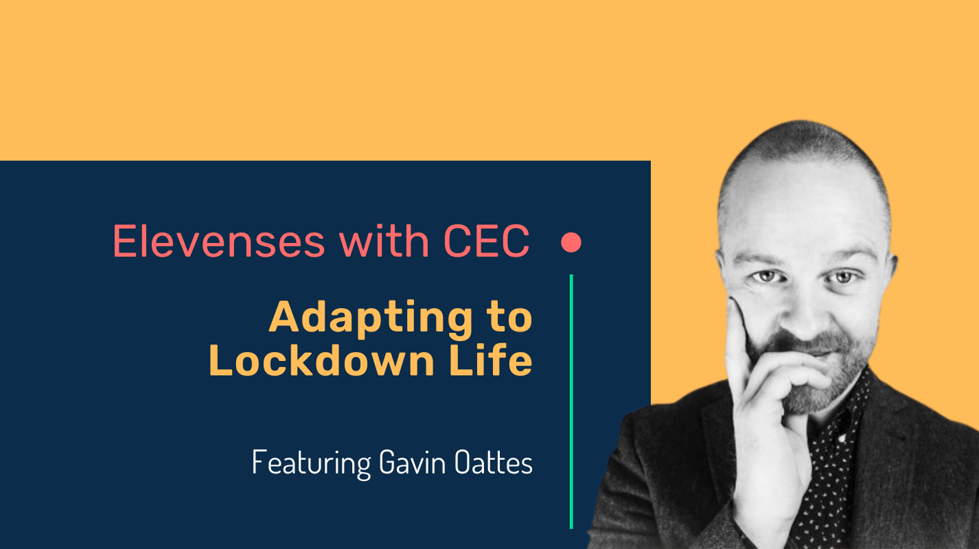 Adapting to lockdown life with author Gavin Oattes