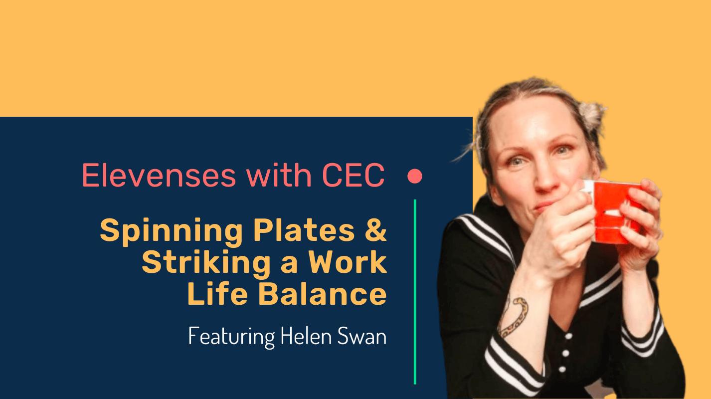 Spinning plates & striking a work life balance