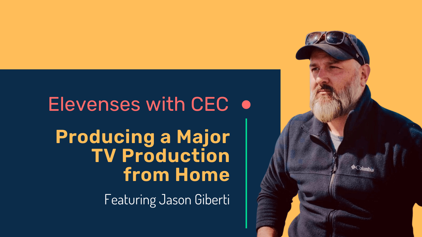 Producing a major tv production from home with Jason Giberti