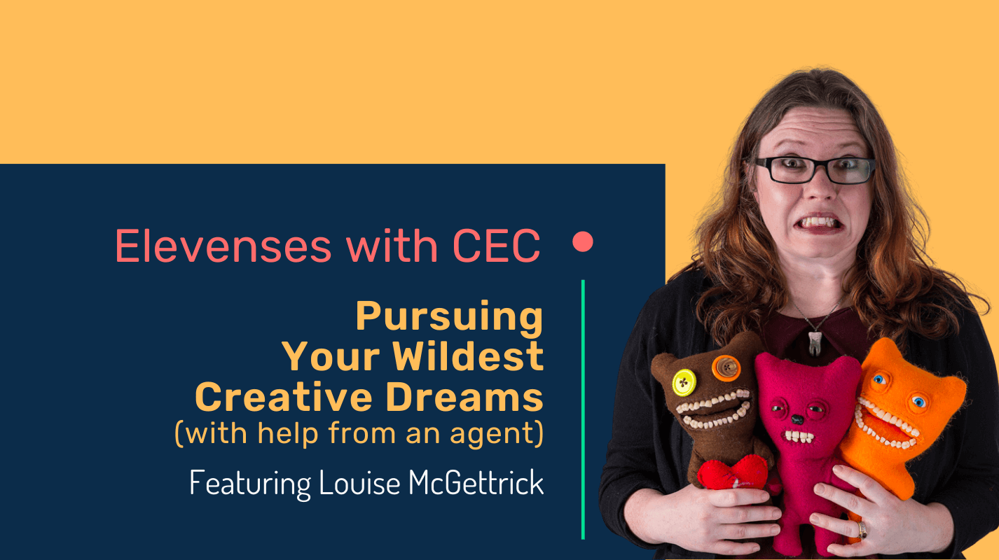 Pursuing your wildest creative dreams (with the help of an agent)