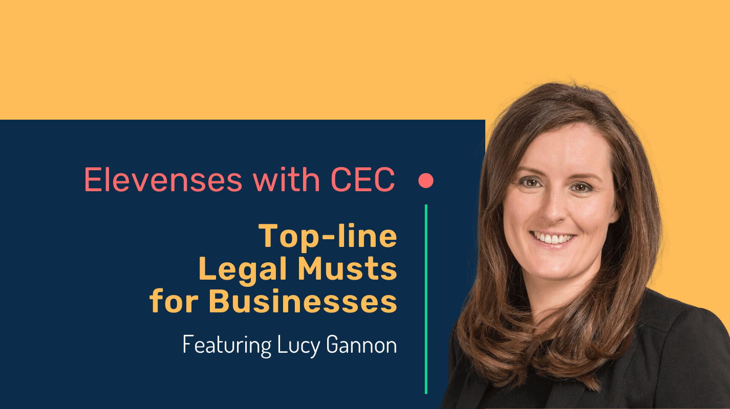 Top-line legal musts for businesses with lawyer Lucy Gannon