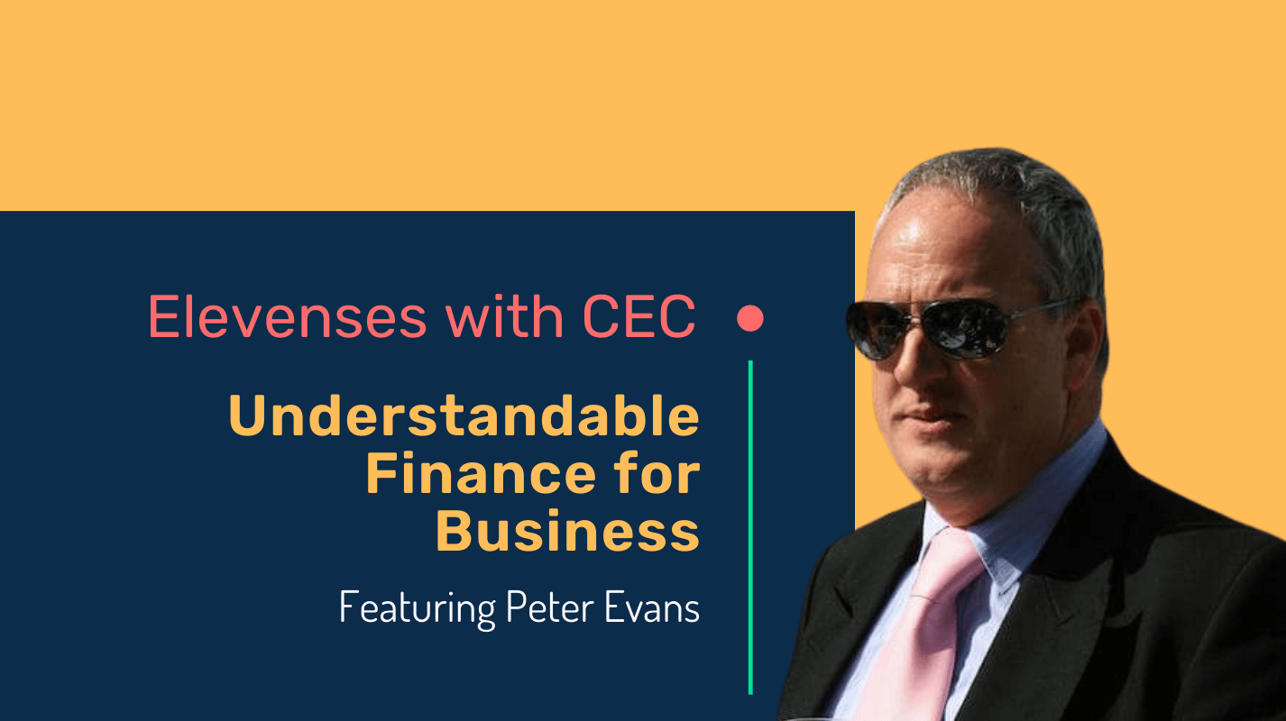 Understandable finance for business with accountant Peter Evans