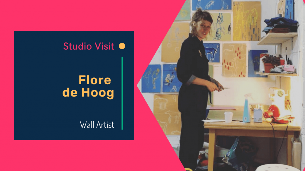 Studio visit with Artist Flore de Hoog