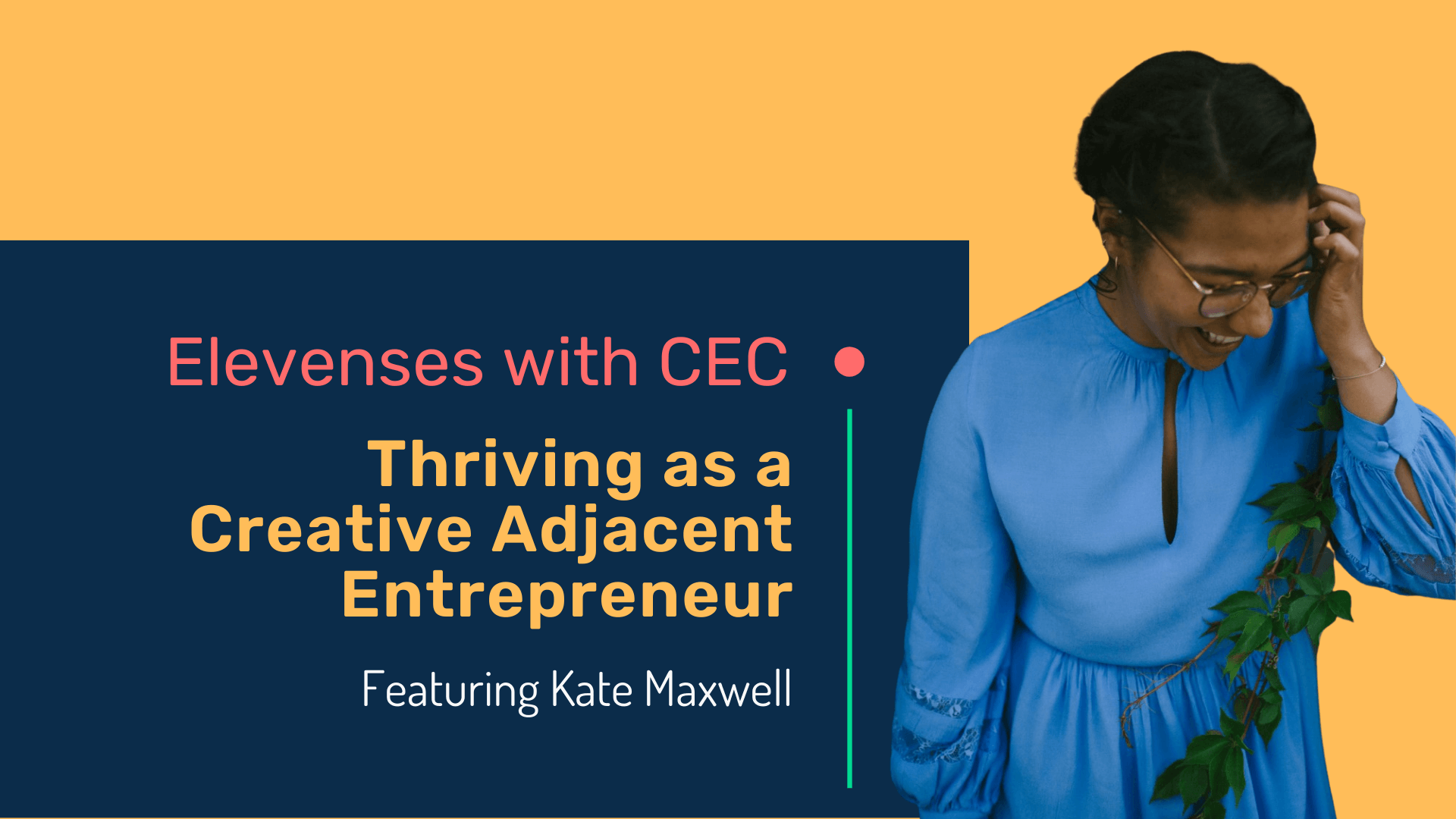 Thriving as a creative adjacent entrepreneur with Kate Maxwell