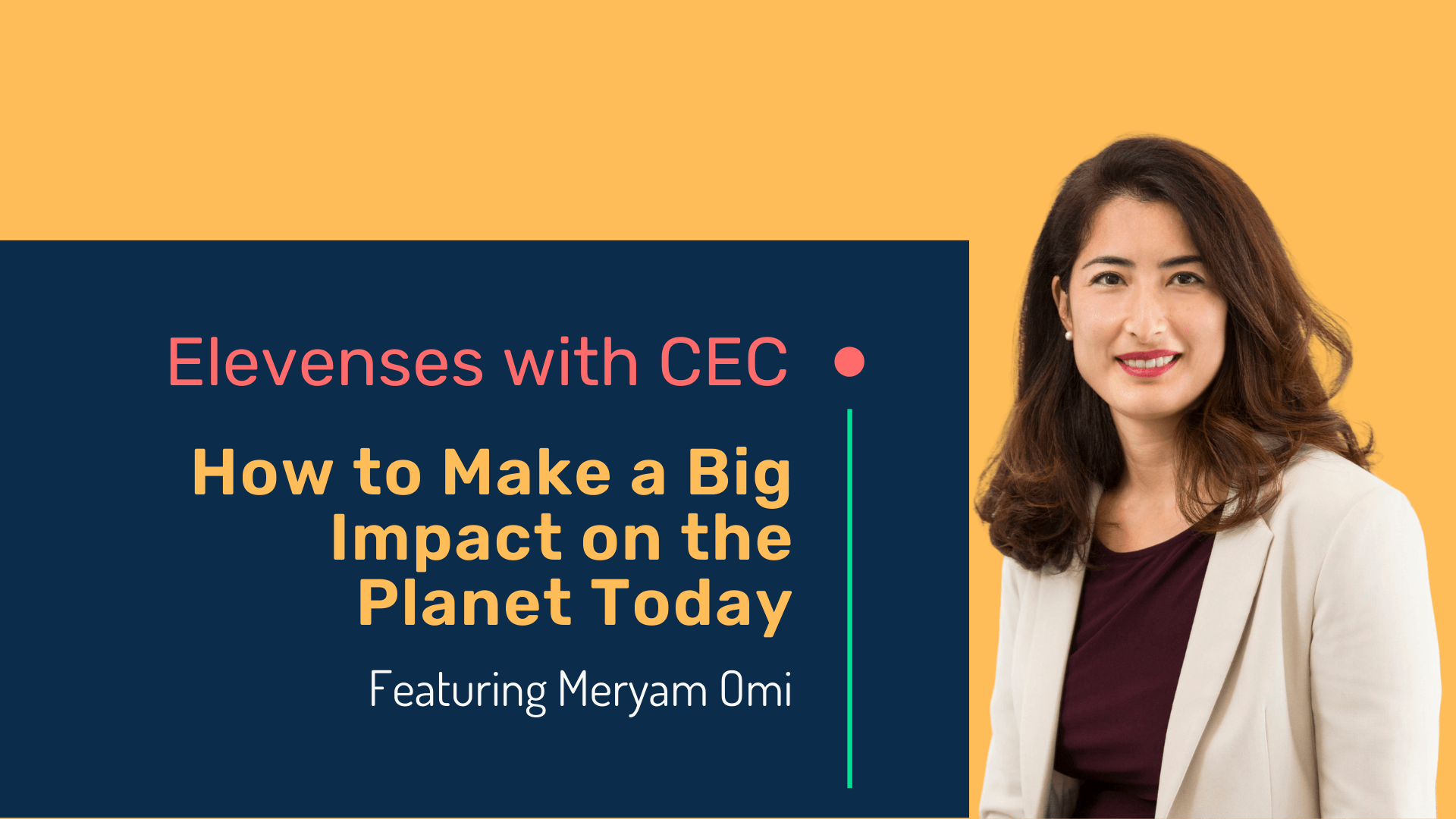 How to make a big impact on the planet today