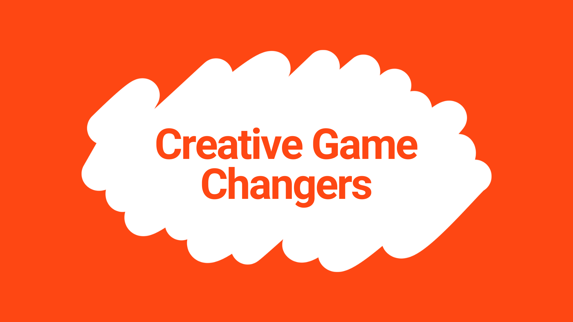 Creative Game Changers logo